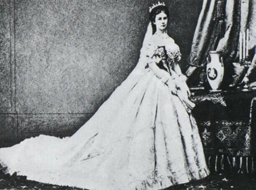 Sissi legismertebb ábrázolása, Kép: wikimedia