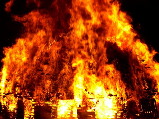 Tűzvész, Kép: pixabay