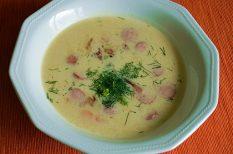kapor, leves, nyár, újkrumpli, virsli