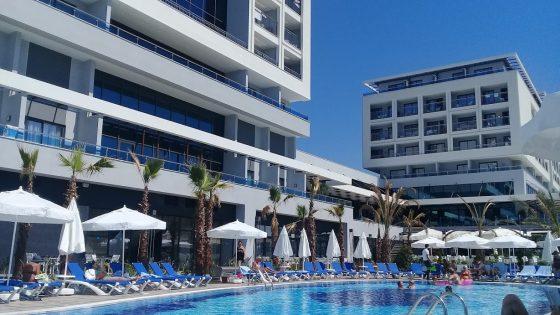 A szálloda nemrég nyitott