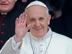 Ferenc pápa Kép: hiradó.hu