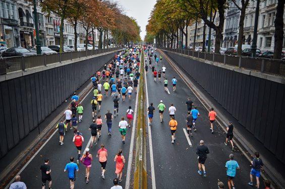Egyre többen futunk... Kép: Pixabay