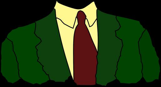 Öltöny sziluettje, Kép: pixabay