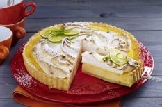 citrom, citromkrém, francia, habcsók, nyár, torta