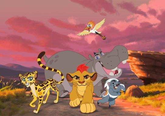 A nagy csapat  Kép: Disney