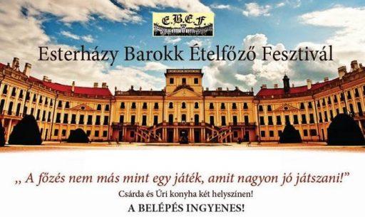Esterházy Barokk Ételfőző Fesztivál, Kép: programturizmus.hu