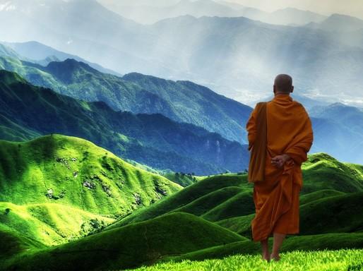 Himalája budhista szerzetessel, Kép: pixabay