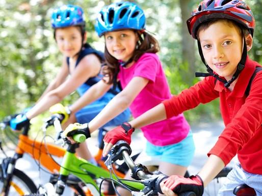 Kerékpározó gyerekek, Kép: pixabay