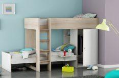 ágy, divat, gyerekszoba, íróasztal, iskolaév, kényelem, praktikusság
