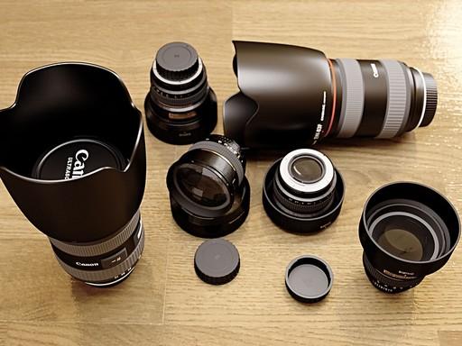 Lencsék és kiegészítők a fényképezőgéphez, Kép: sajtóanyag