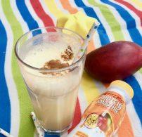 fagyi, hűsítő, mangó, nyár