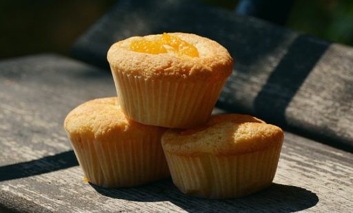 Nektarinos muffin, Kép: pixabay.com