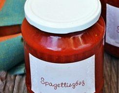 nyár, paradicsom, spagetti szósz, szósz, tartósítás