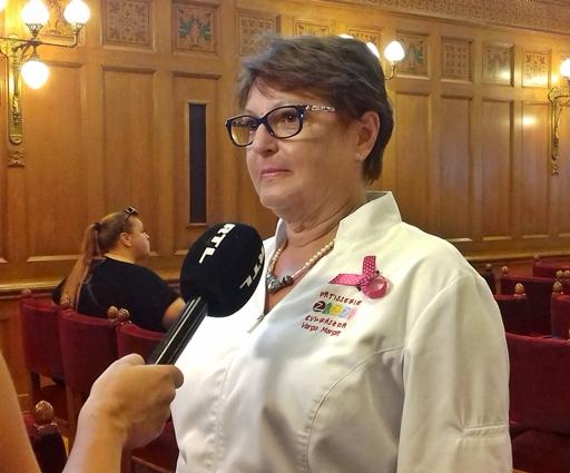 Varga Margit, a Zazzi cukrásza, Kép: Kandikó Éva