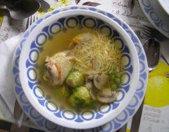 húsleves, leveszöldség, tyúk, Újházi Ede, ünnepi menü