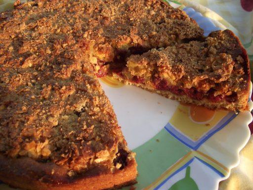 A nagyi meggyes mandula tortája, Kép: maxkonyhaja.hu