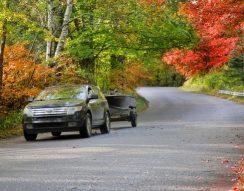 abroncs, biztonság, közlekedés, levelek, ősz