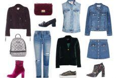 divat, farmer, kiegészítők, ősz, stylist, színek, vörös