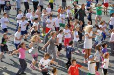 Baji Balázs, egészség, fittség, gyerek, sportnap, sportoló