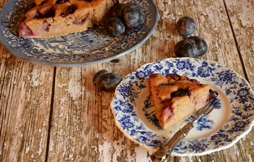 Egészséges szilvás pite, Kép: ahogyeszikugypuffad.blogspot.com