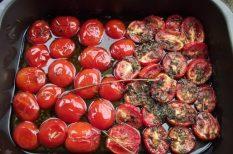 Lucullus, olívaolaj, paradicsom, sült paradicsom