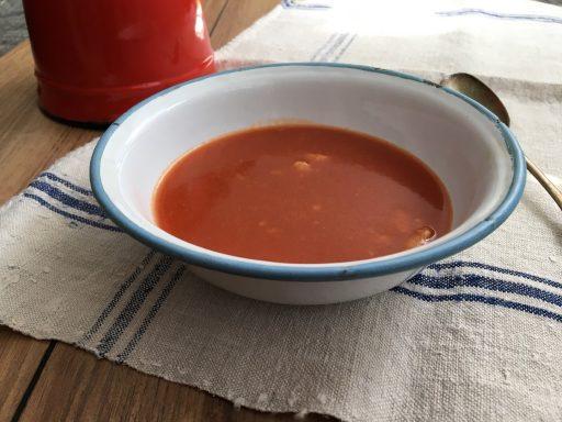 Nagymamám paradicsom levese, Kép: receptguru.cafeblog.hu