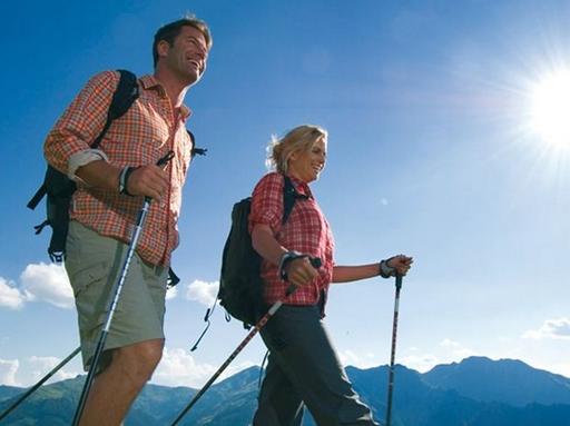 Nordic walking, Kép: Budai Egészségközpont