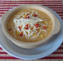 krémleves, kukorica, leves, mexikói, ősz