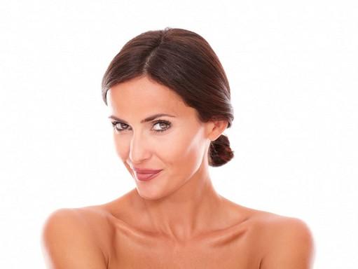Szép női arc kezelés után, Kép: sajtóanyag