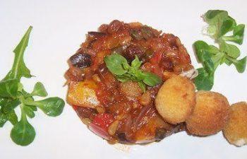lecsó, mediterrán, mozzarella, padlizsán, paprika, paradicsom, szicíliai