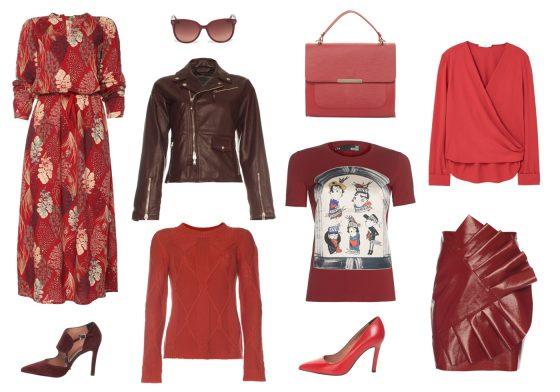 Tüzes vörös Fotó: fashiondays.hu