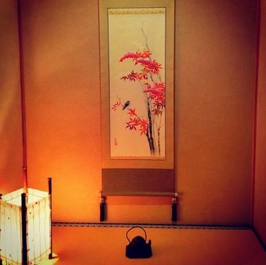 Tokonoma, Kép: Japánspecialista