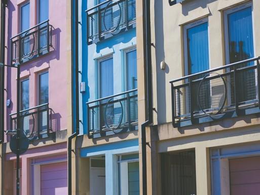 Városi ház kívülről, Kép: pexels