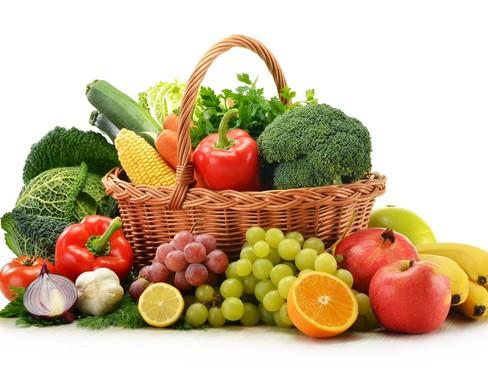 Zöldséges kosár, Kép: Vegetariánus Fesztivál