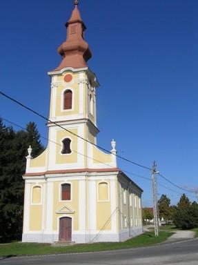 Bikács, barokk evangélikus templom, külső, Kép: László Márta