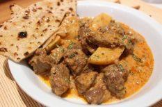 bárány, burgonya, curry, egytál étel, ősz