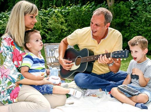 Családi piknik Pelleréknél, Kép: Sudocrem