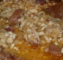 egytál étel, füstölt hús, gersli, húsos káposzta, káposzta