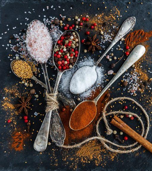 Só, bors, fűszerek, Kép: pixabay.com