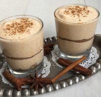 könnyű desszert, mascarpone, ősz, pohárkrém, sütőtök