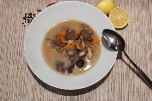 Tejszínes vadnyúl leves, Kép: husimado-eger.blog.hu