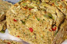 alternatív, egészséges, kenyér, zöldség