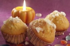 mazsola, muffin, sütőtök