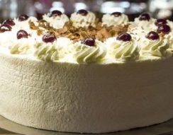 hab, sütés nélkül, tojás, torta