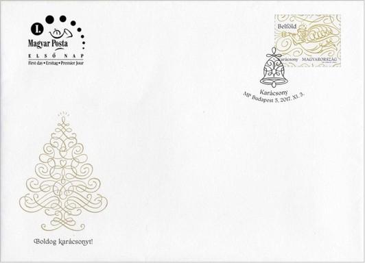 Ünnepi boríték karácsonyra, Kép: Magyar Posta