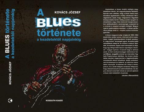 A blues története, könyvborító, Kép: Kossuth Kiadó