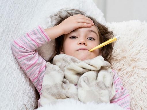 Beteg gyerek, Kép: Czeizel Intézet