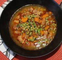 gomba, leves, seréshús, zöldborsó