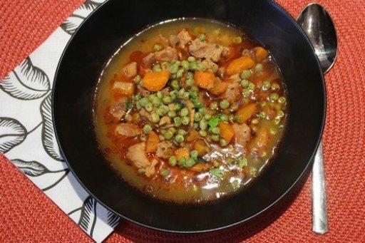 Borsós, gombás sertésragu leves, Kép: husimado-eger.blog.hu