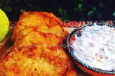 karaj, parmezán, rántott hús, sajt